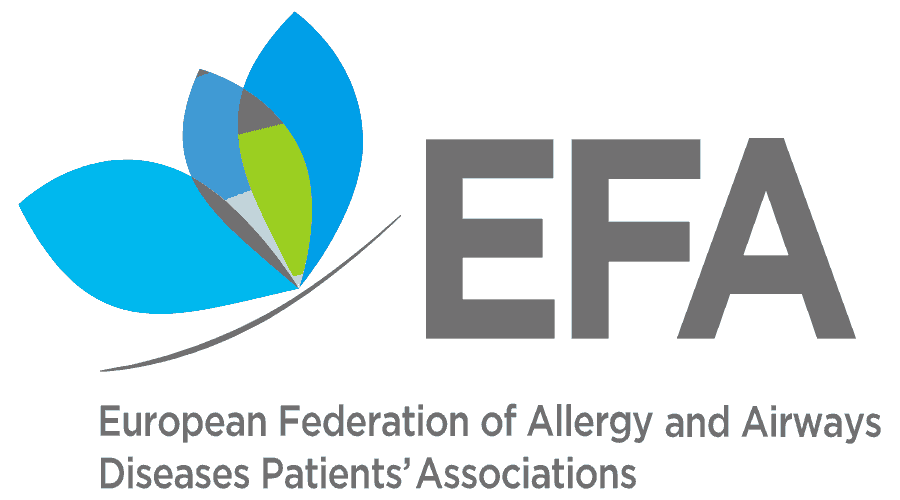 European Federation of Allergy and Airways Diseases Patients' Associations (EFA) Logo Vector