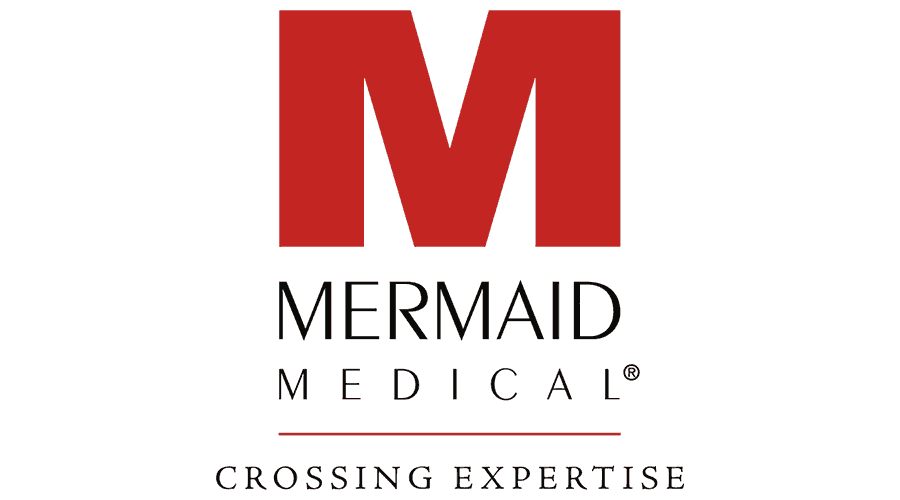 Mermaid Medical Logo Vector