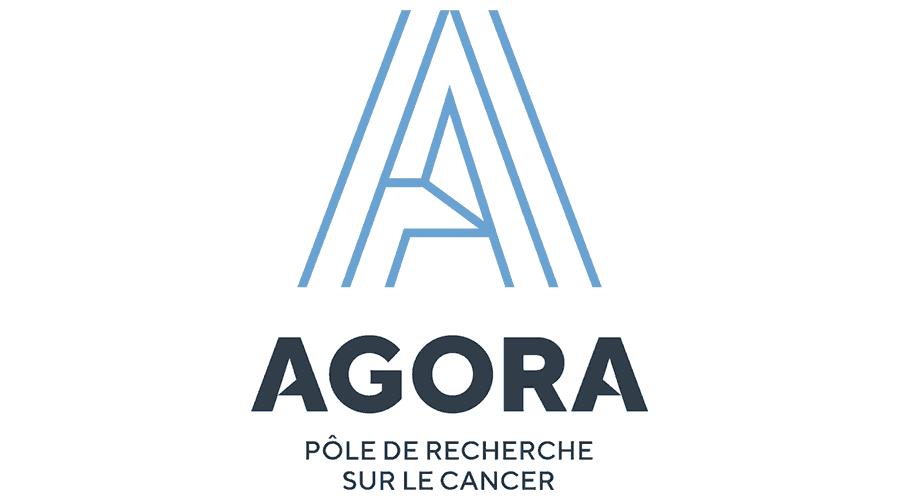 AGORA, Pôle de Recherche Sur le Cancer Logo Vector