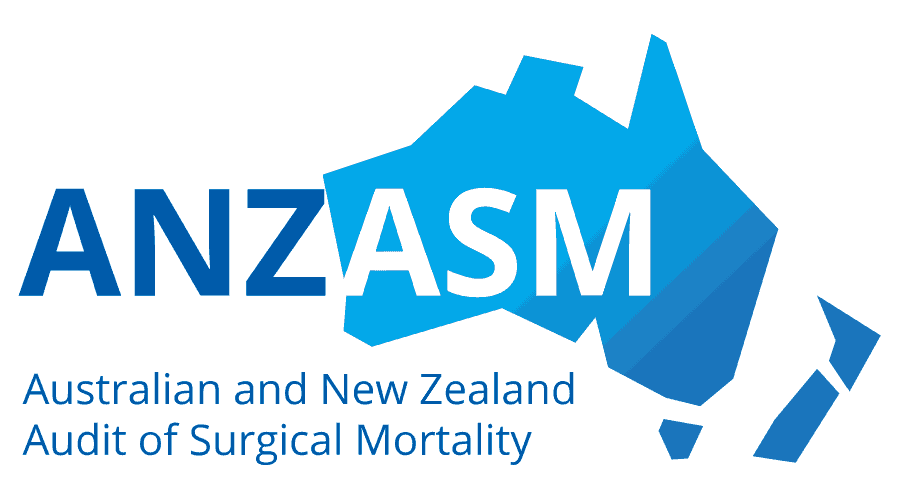 Australian and New Zealand Audit of Surgical Mortality (ANZASM) Logo Vector