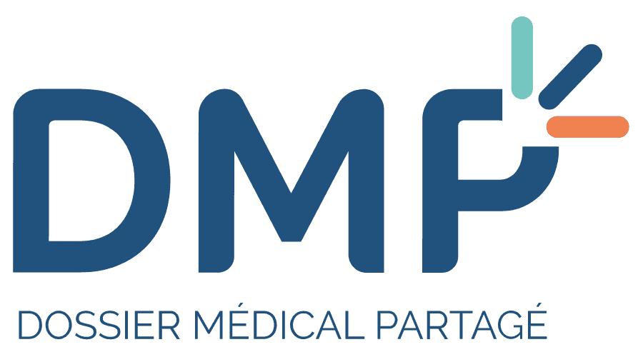 Dossier Médical Partagé (DMP) Logo Vector