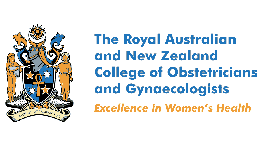 The Royal Australian and New Zealand College of Obstetricians and Gynaecologists (RANZCOG) Logo Vector