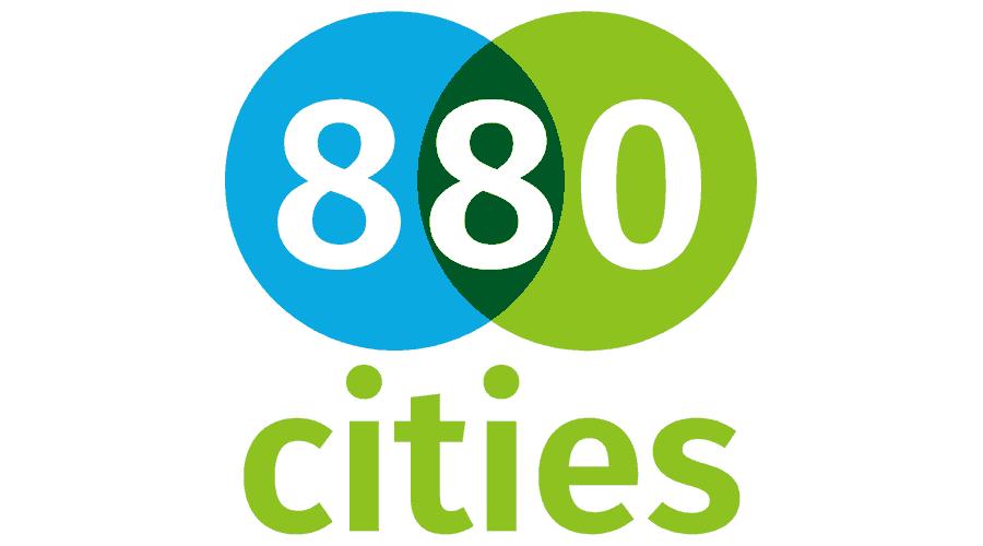 8 80 Cities Logo Vector