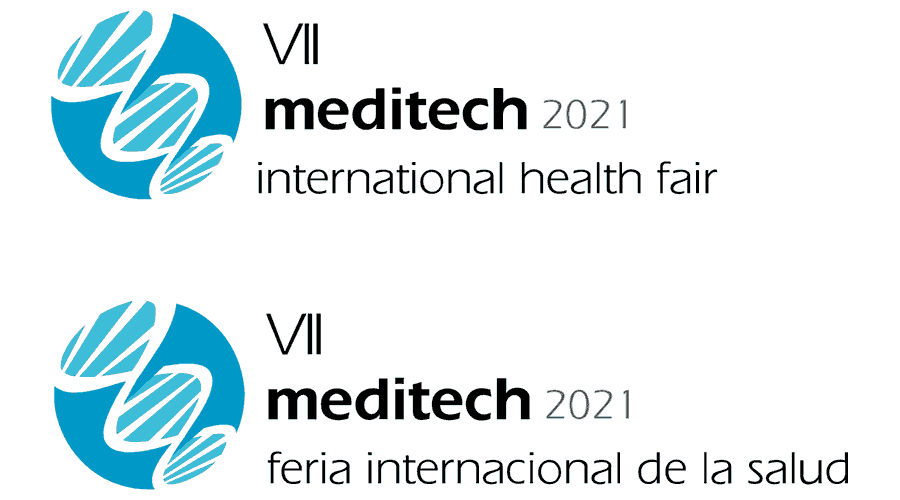 Meditech International Health Fair Logo Vector
