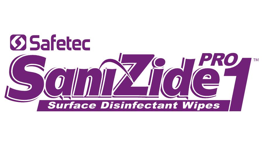 Safetec SaniZide Pro 1 Surface Disinfectant Wipes Logo Vector