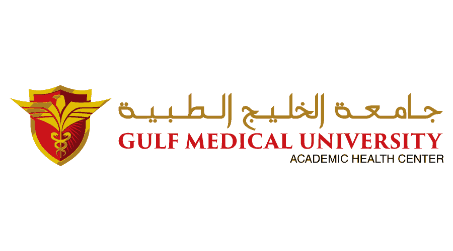 Gulf Medical University Logo Vector