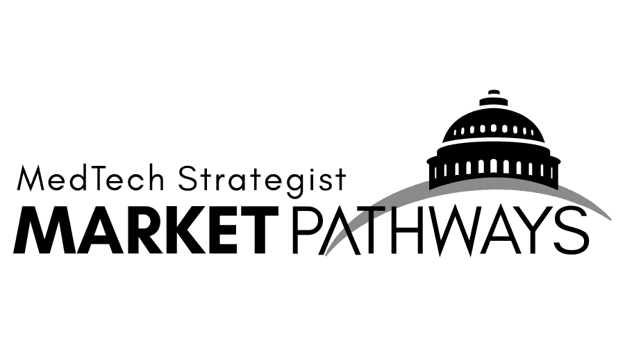 MedTech Strategist Market Pathways Logo Vector