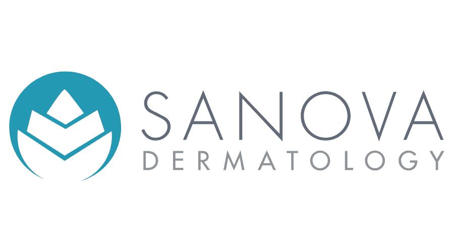 Sanova Dermatology Logo Vector