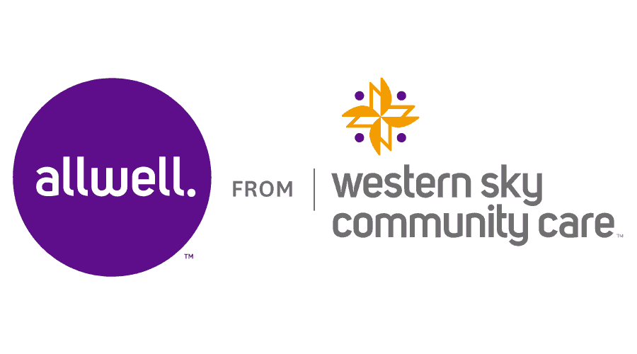 Allwell from Western Sky Community Care Logo Vector