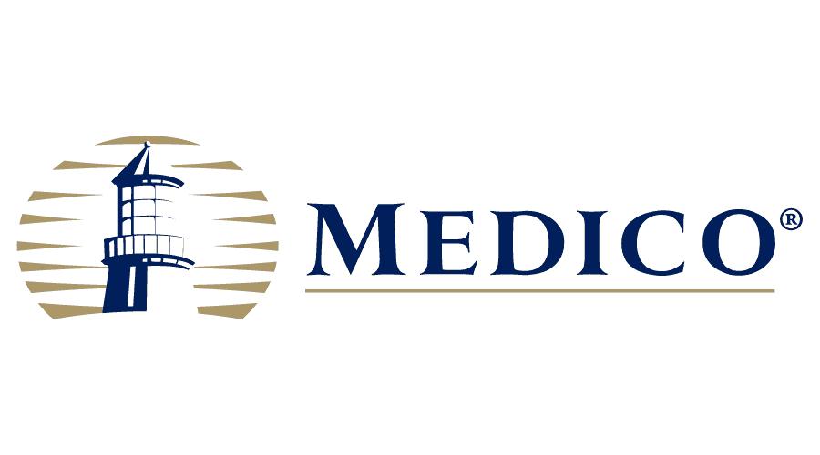 Medico Insurance Company Logo Vector