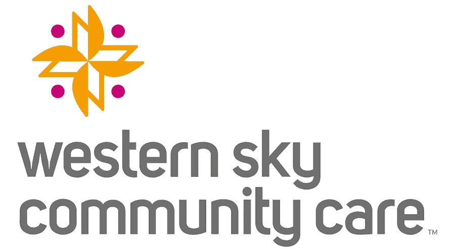 Western Sky Community Care Logo Vector