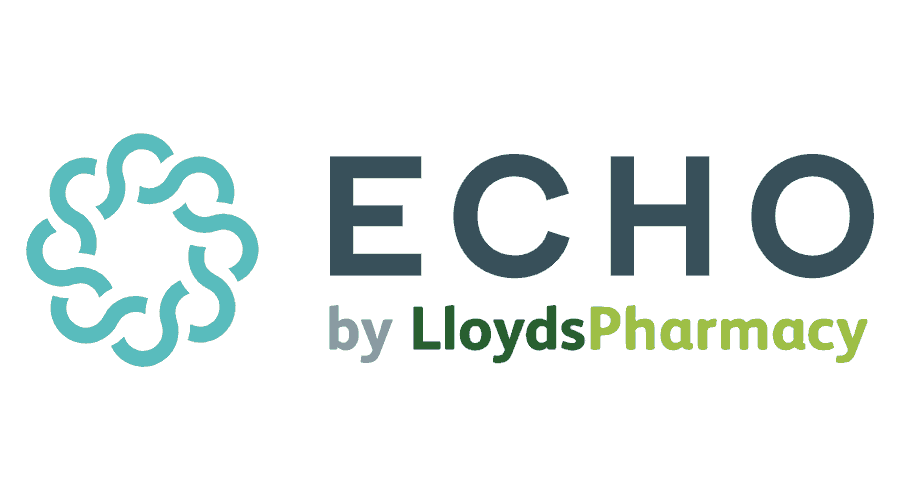 Echo by LloydsPharmacy Logo Vector