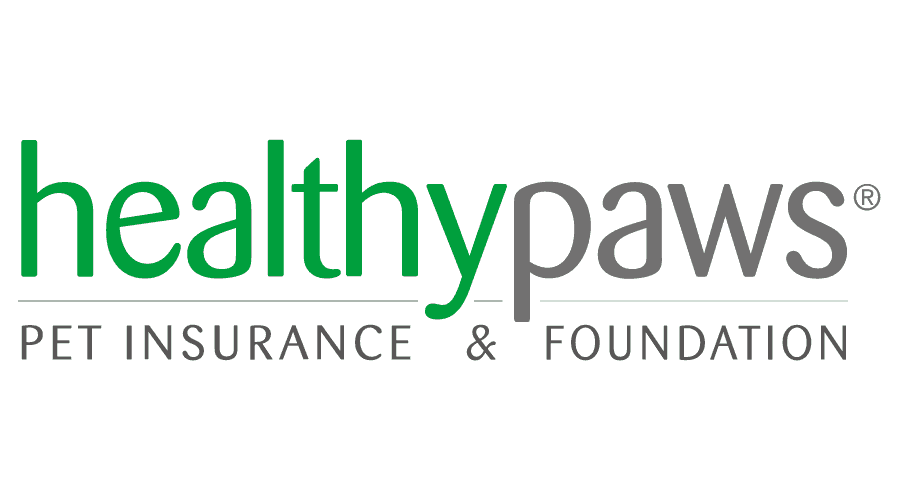 Healthy Paws Pet Insurance and Foundation Logo Vector