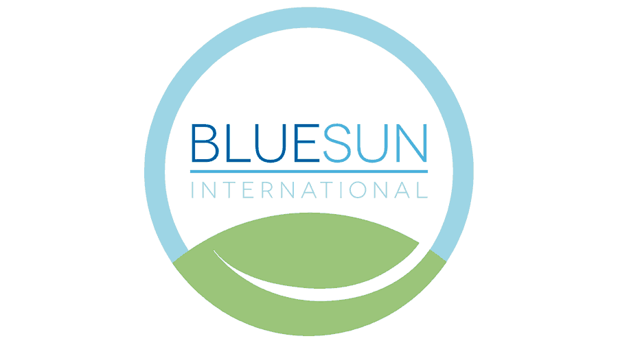 Blue Sun International Logo Vector