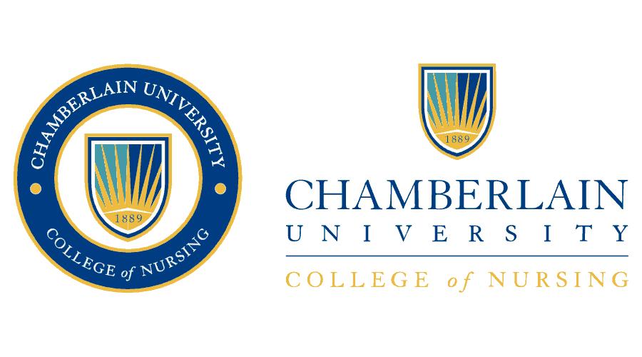 Chamberlain University College of Nursing Logo Vector