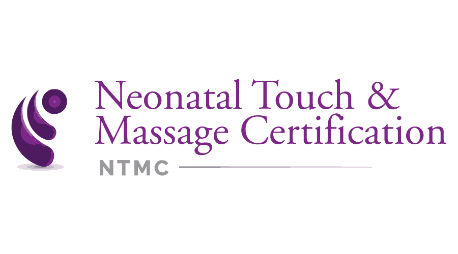 Neonatal Touch and Massage Certification (NTMC) Logo Vector