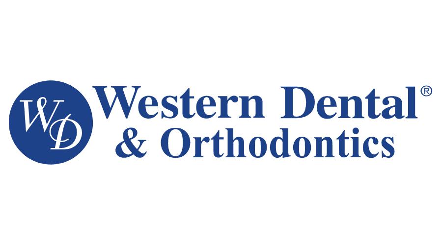 Western Dental and Orthodontics Logo Vector