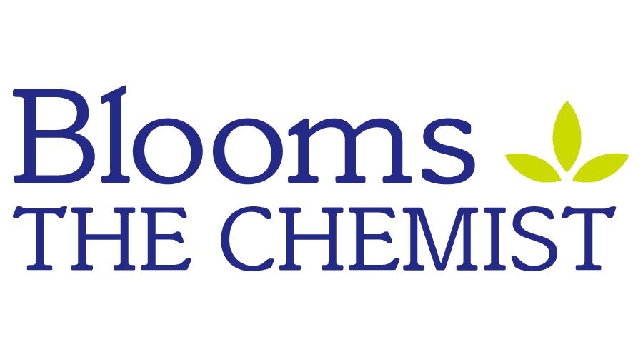 Blooms The Chemist Logo Vector