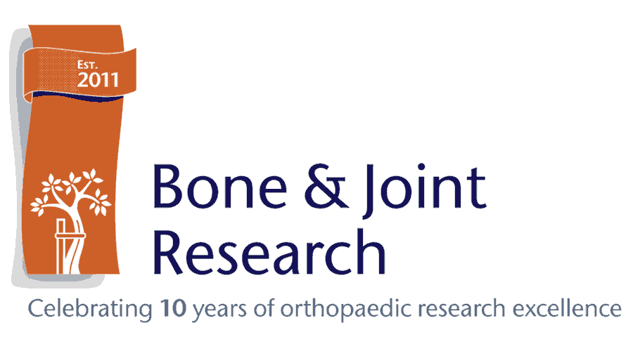 Bone and Joint Research Logo Vector