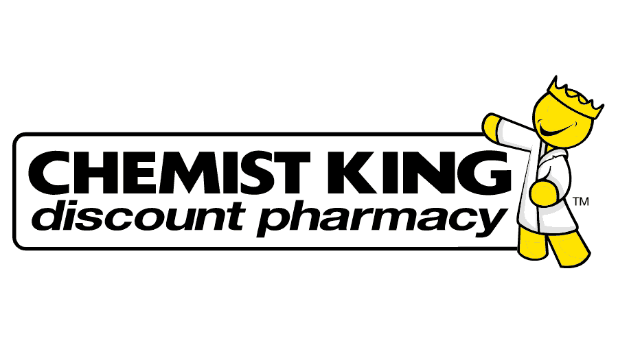 Chemist King Discount Pharmacy Logo Vector