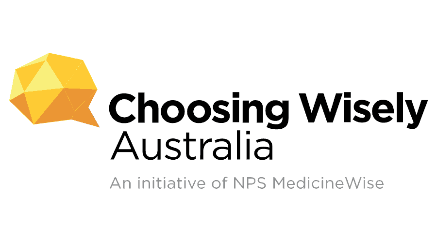 Choosing Wisely Australia Logo Vector