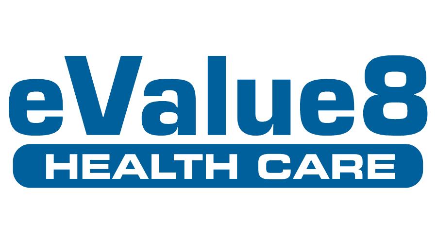 eValue8 Logo Vector