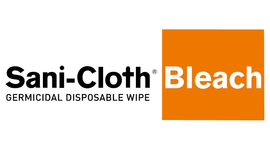 Sani-Cloth Bleach Germicidal Disposable Wipe Logo Vector