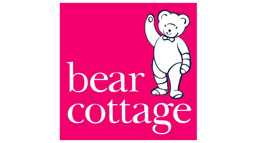 Bear Cottage Logo Vector