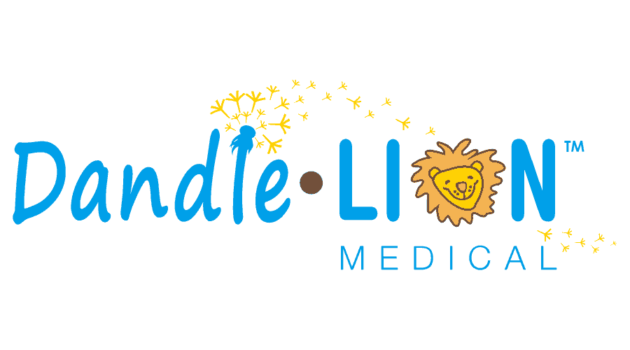 Dandle LION Medical Logo Vector