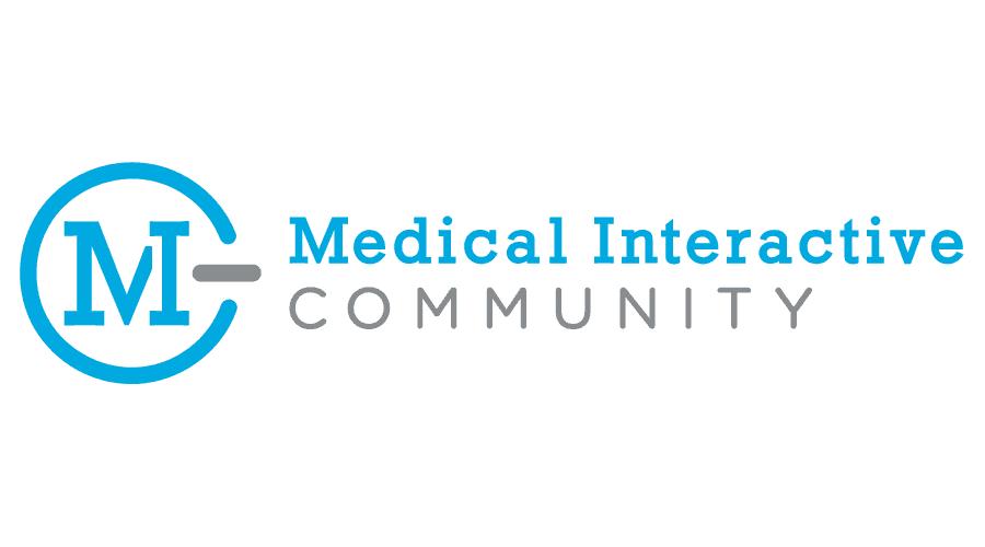 Medical Interactive Community Logo Vector