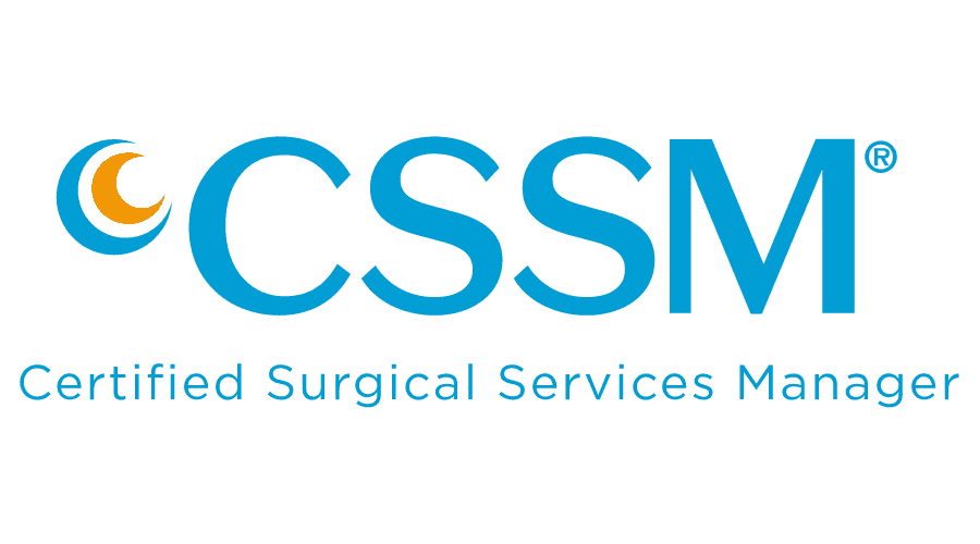 Certified Surgical Services Manager (CSSM) Logo Vector