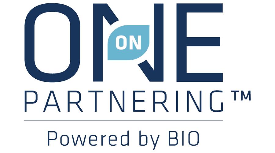 BIO One-on-One Partnering Logo Vector