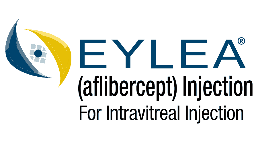 EYLEA (aflibercept) Injection for Intravitreal Injection Logo Vector