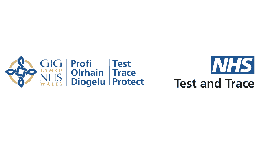 NHS Wales Test Trace Protect Logo Vector