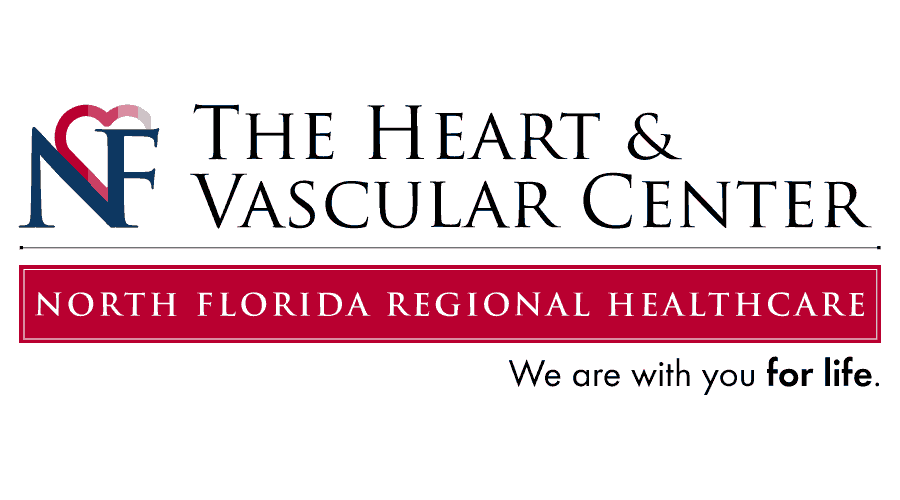 North Florida Regional Healthcare The Heart and Vascular Center Logo Vector