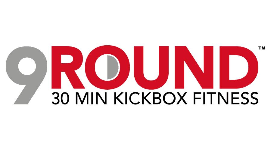 9Round 30 Min Kickbox Fitness Logo Vector