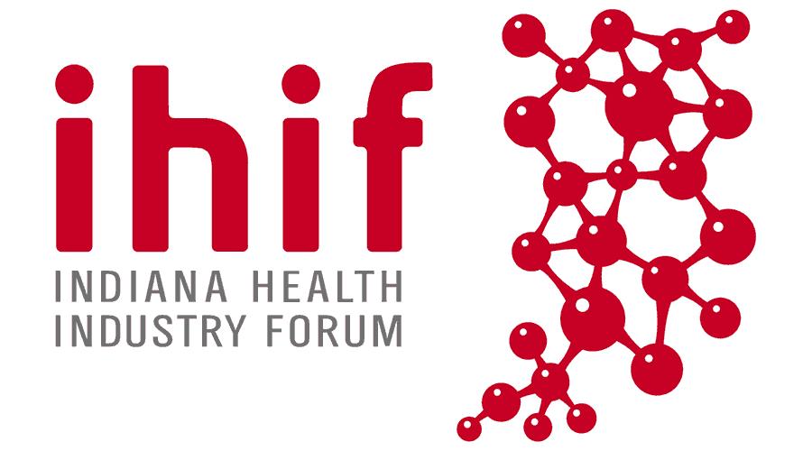 Indiana Health Industry Forum (IHIF) Logo Vector