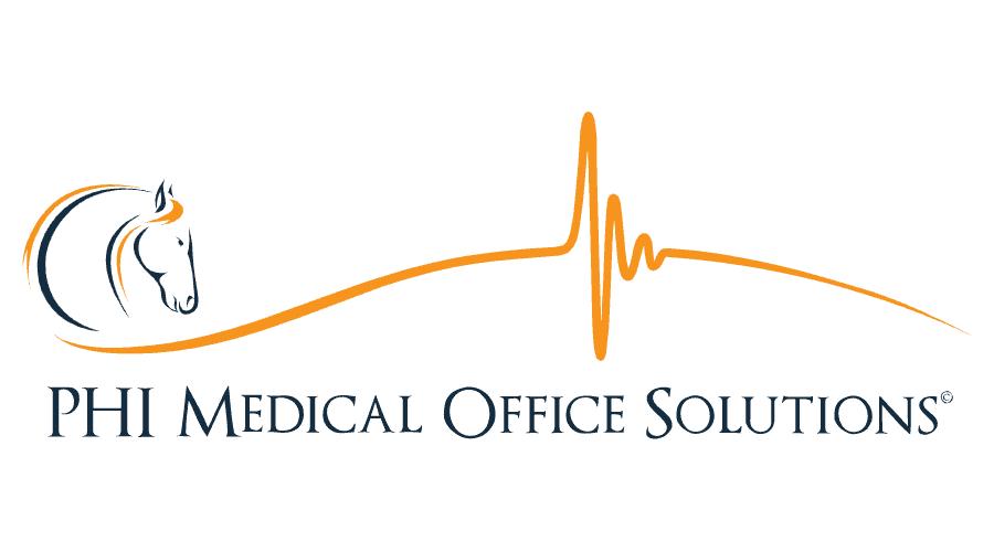 PHI Medical Office Solutions Logo Vector