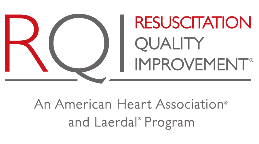 Resuscitation Quality Improvement Program (RQI) Logo Vector