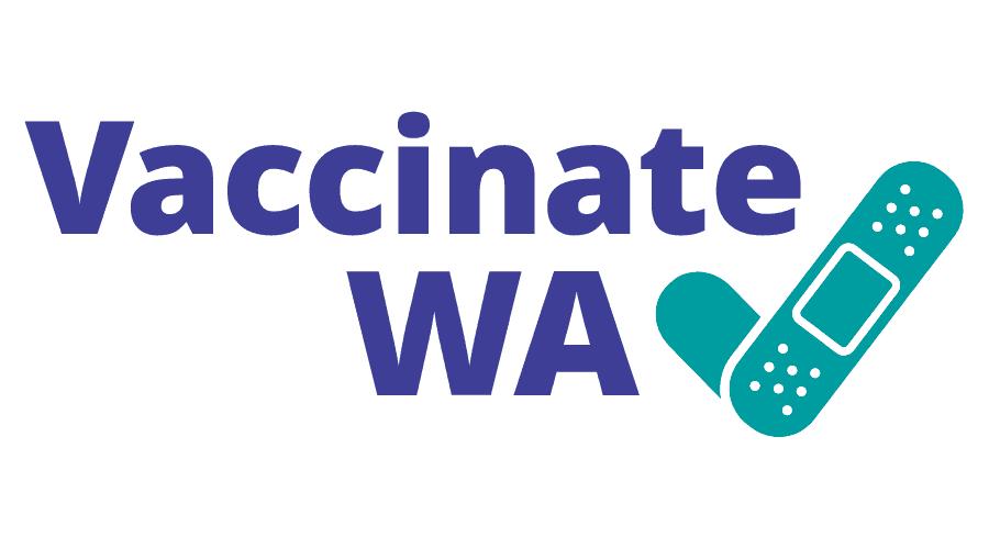 Vaccinate WA Logo Vector