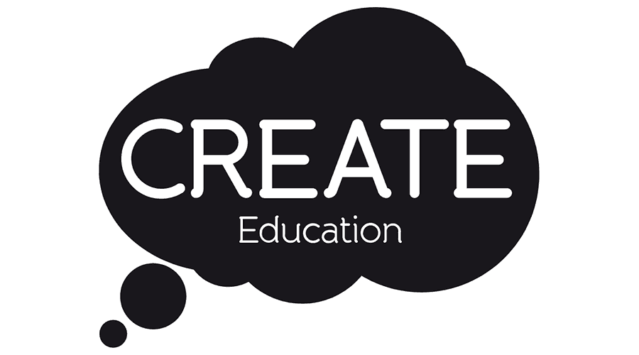 CREATE Education Logo Vector