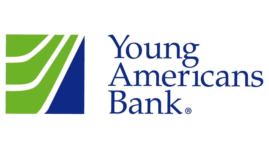 Young Americans Bank Logo Vector