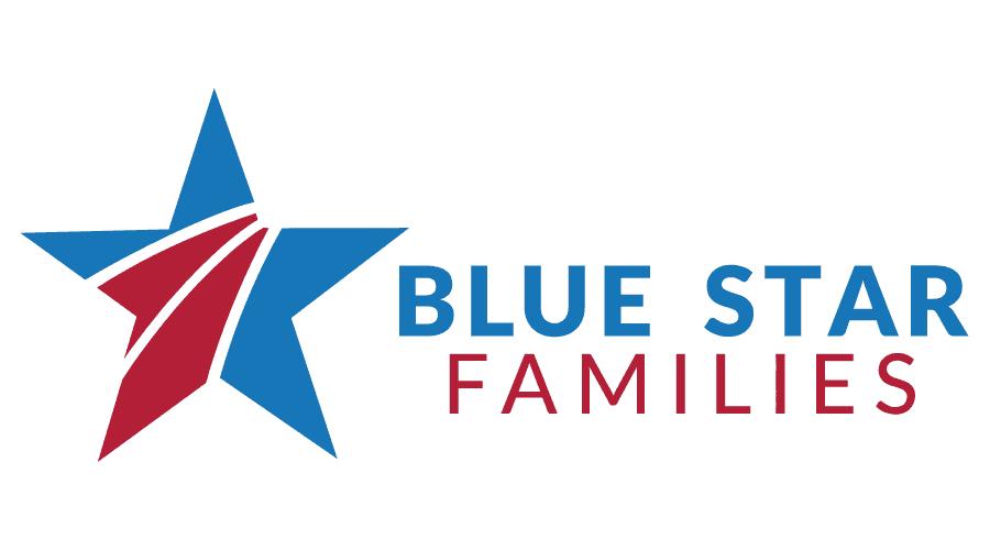 Blue Star Families Logo Vector
