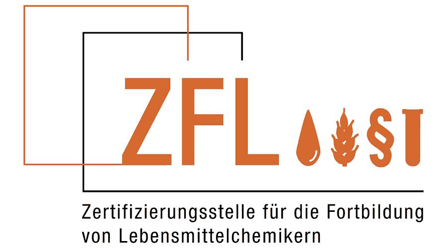 Zertifizierungsstelle für die Fortbildung von Lebensmittelchemikern (ZFL) Logo Vector